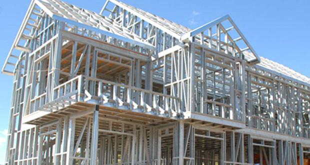 casa com estrutura em aço modular